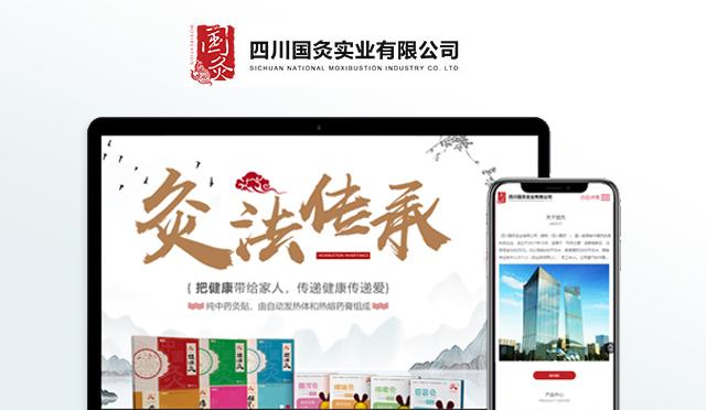 河南国灸实业有限公司官网建设