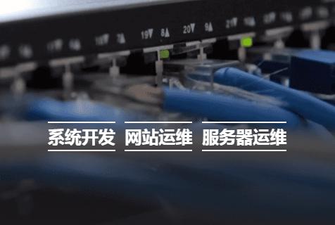 河南系统开发 · 网站运维 · 服务器运维